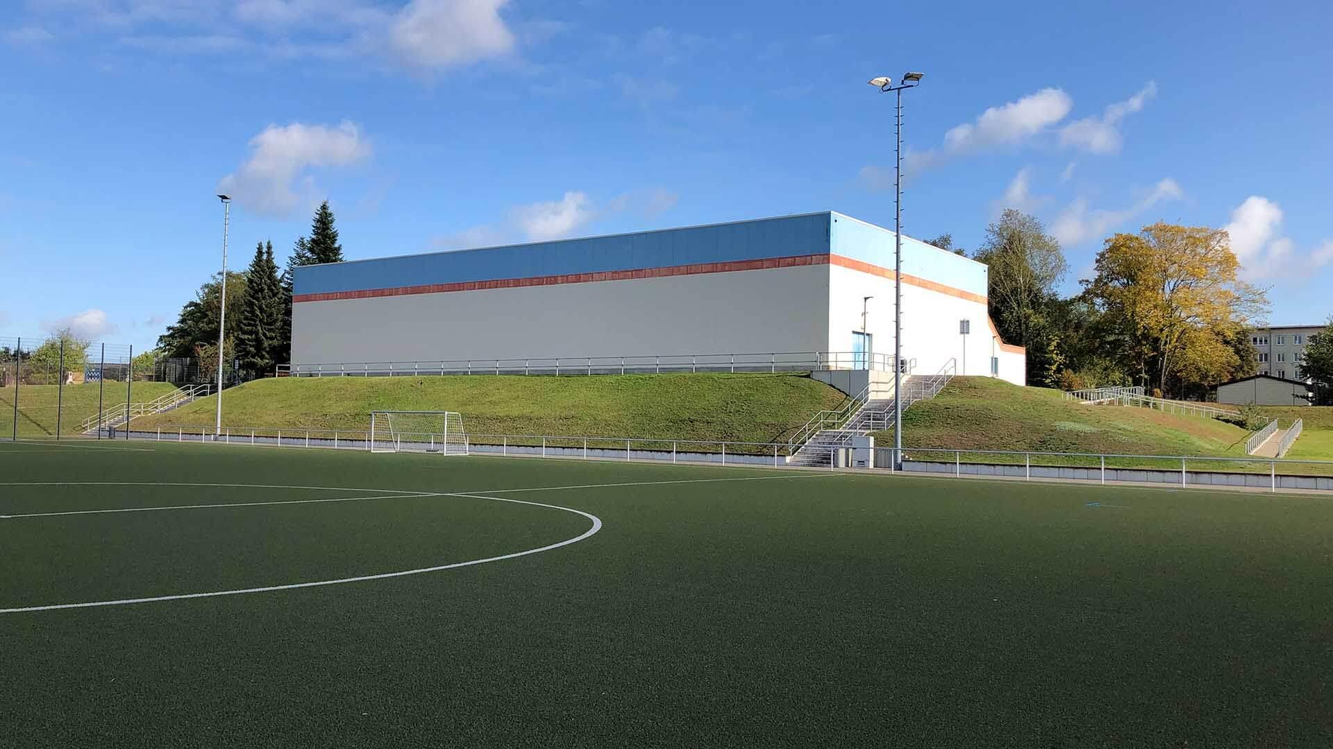 Sporthalle an der Naturpark-Schule in Krakow am See